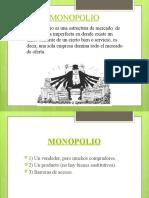 REGULACION ECONOMICA MONOPOLIO