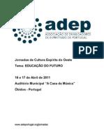 Jornadas ADEP 2011 - Dossier
