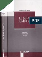 3.Acto Jurídico. Vidal Ramírez Fernando