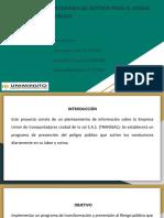 PROGRAMA DE GESTIÓN PARA EL RIESGO PÚBLICO