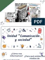1ro Medios masivos de comunicación