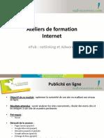 Ateliers de formation Internet. epub _ netlinking et Adwords