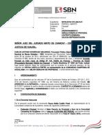 Contestación Aucallama (Exp. 155-2018)