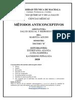 5. METODOS ANTICONCEPTIVOS