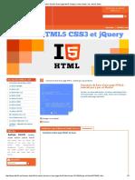 Structure de base d'une page html5_ doctype, meta, header, nav, article, footer,