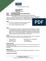 Actualizacion de Informe Llamadas Sector Textil 006
