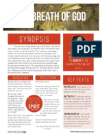 The Breath of God Study Guide