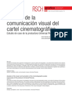 Análisis de la comunicación visual del cartel cinematofrafico