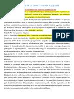 ARTICULOS DE LA CONSTITUCIÓN NACIONAL - 901