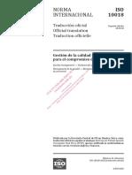 ISO-10018-2020 — Orientación Para El Compromiso de Las Personas
