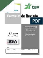 Revisão SSA - CARDENO 2- COMPLEMENTO- HISTÓRIA E GEOGRAFIA