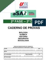 SIMULADO SSA 2 - 2º DIA
