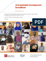 COVID 19 and Sustainable Development in Somalia Somaliland July 2020 Final