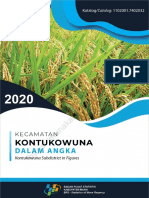 Kecamatan Kontukowuna Dalam Angka 2020