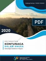Kecamatan Kontunaga Dalam Angka 2020