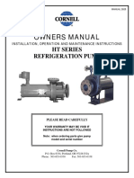 Cornell Hemetic Ammonia Pump MANUAL26281
