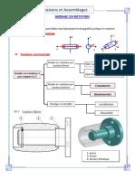 Liaisons Et Assemblage de Pieces Mecaniques Guidage en Rotation