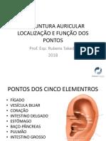 AURICULOTERAPIA - PONTOS FUNÇÃO