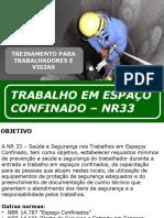 Treinamento de Espa+§o Confinado_Trabalhadores e Vigias NR 33_SEGSEMPRE
