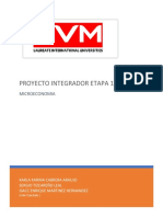 Proyecto Integrador Etapa 1 Microeconomia