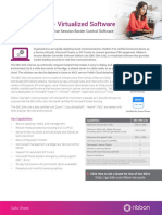 SBC SWe Lite Datasheet- Virtualized Software