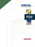 SpacePak PurePak Air Cleaners Brochure