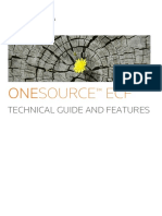 Technical Guide and Features Onesource e