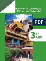 Ciencias Naturales, Tomo II, 3er año. Ciencias para vivir en comunidad_0