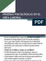 349643380 Pruebas Psicologicas en El Area Laboral