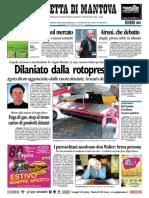 Gazzetta Mantova 23 Luglio 2010