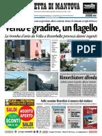 Gazzetta Mantova 24 Luglio 2010