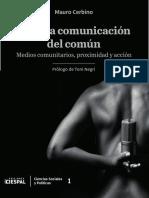 Comunicacion del comun - Mauro Cerbino