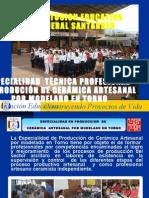 ESPECIALIDAD EN CERAMICA ARTESANAL