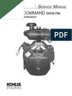 CH20S service manual | Gasoline | Motor Oil