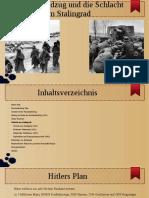 Russlandfeldzug und die Schlacht um Stalingrad