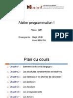 Chapitre 1_programmation I
