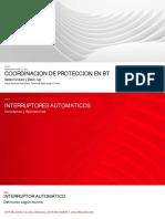 7.Coordinación de protecciones en Sistemas de Baja Tensión (Selectividad y Back UP)