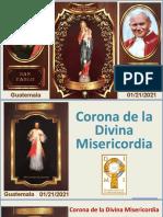 Coronilla de La Misericordia 2021 , Dimi Guate