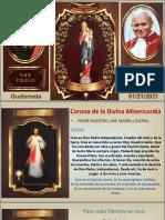 MISTERIOS DOLOROSOS, DIMI GUATE, 2021