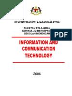 ICT - Kurikulum Bersepadu Sekolah Menengah