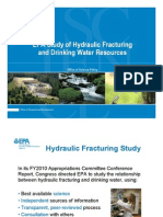 EPA Frack + water study