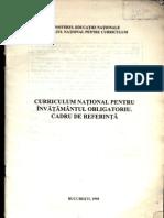 Men - Curriculum National Pentru Invatamantul Obligatoriu