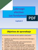 Capitulo 9-Liderazgo-Fundamentos