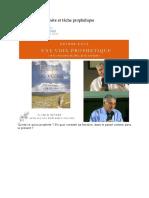 Vocation du prophète et tâche prophétique