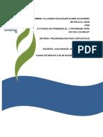 ACTIVIDAD DE APRENDIZAJE…2 PROGRAMA PARA EL USO DE LOS MIDLET 2