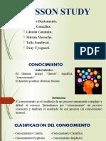 Conocimiento y Ciencia - Exposición