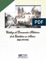 Catalogo Dochistoricos