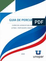 Guia de Percurso - Letras_Português_Inglês_Unopar - 2020