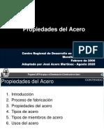 3. PROPIEDADES DEL ACERO ESTRUCTURAL