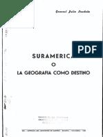 Suramérica o la geografía como destino - Julio Londoño Londoño